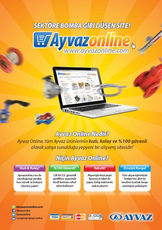 Dergi Reklamý / Ayvaz Online