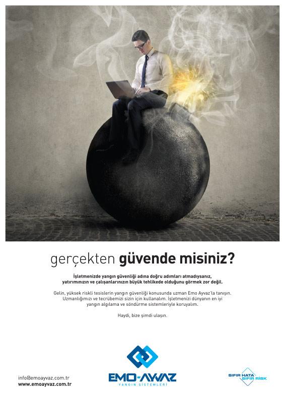 Dergi Reklamý / Emo Ayvaz