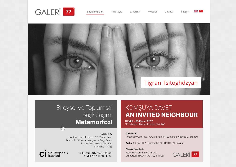 Web Sitesi / Galeri 77